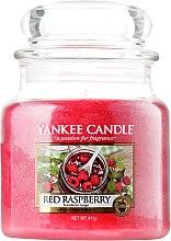 Parfumuri și produse cosmetice Lumânare aromată, în borcan - Yankee Candle Red Raspberry