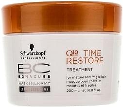 Mască de păr Q10 - Schwarzkopf Professional BC Bonacure Time Restore Q10 Plus Treatment  — Imagine N1