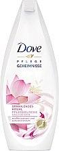 """Parfumuri și produse cosmetice Gel de duș """"Floare de Lotus"""" - Dove Nourishing Secrets Brightening Shower Gel"""