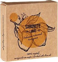"""Săpun natural """"Lămâie"""" - Essencias De Portugal Senses Lemon Soap With Olive Oil — Imagine N1"""