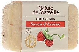 Parfumuri și produse cosmetice Săpun de ovăz cu căpșuni - Nature de Marseille Soap