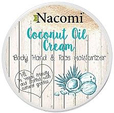 Parfumuri și produse cosmetice Cremă de corp cu ulei de cocos - Nacomi Coconut Cream