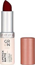 Parfumuri și produse cosmetice Ruj mat de buze - GRN Lipstick Matte
