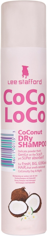 Șampon uscat pentru păr - Lee Stafford Coco Loco Coconut Dry Shampoo