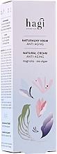 Parfumuri și produse cosmetice Cremă naturală pentru față - Hagi Natural Face Cream Anti-aging
