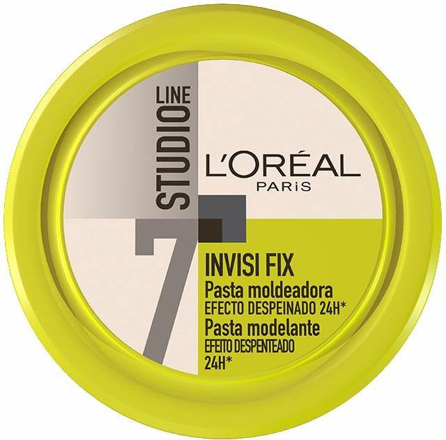 Cremă- gel modelatoare pentru păr - L'Oreal Paris Studio Line 7 Invisi Fix Mineral Gel Cream — Imagine N1