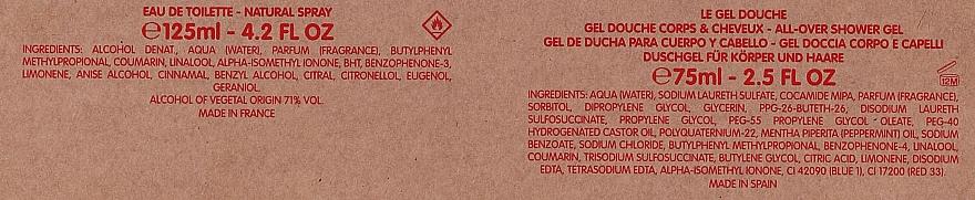 Jean Paul Gaultier Le Male - Set (edt/125ml + sh/gel/75ml) — Imagine N5
