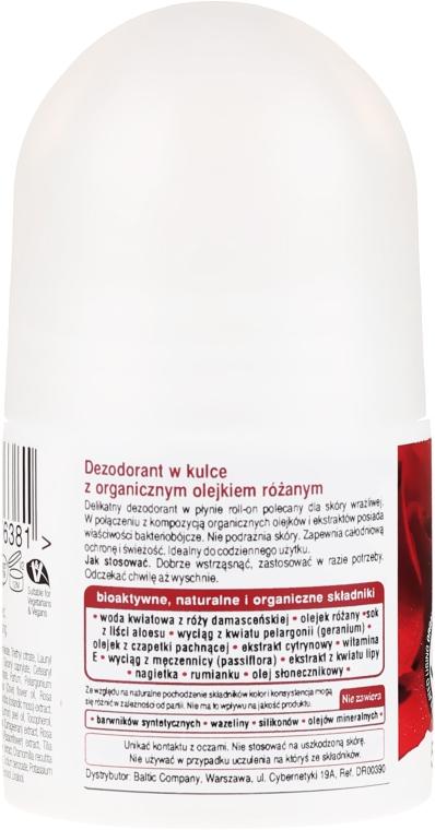 "Deodorant ""Ulei de trandafir"" - Dr. Organic Bioactive Skincare Rose Otto Deodorant — Imagine N2"
