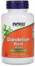 """Parfumuri și produse cosmetice Capsule """"Rădăcină de păpădie"""", 500 mg - Now Foods Dandelion Root"""