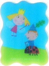"""Parfumuri și produse cosmetice Burete de baie """"Ben și Holly"""", pentru copii, albastră - Suavipiel Ben & Holly"""