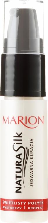 Mătase lichidă pentru păr - Marion Hair Natura Silk Jedwabna Kuracja — Imagine N1