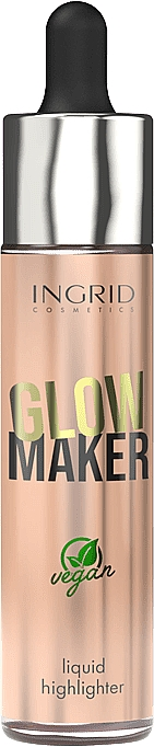 Highlighter lichid - Ingrid Cosmetics Glow Maker Bali Vegan Highlighter
