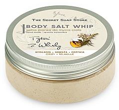 "Parfumuri și produse cosmetice Mousse de sare pentru duș ""Tutun și whisky"" - The Secret Soap Store Tobacco And Whiskey Body Salt Whip"
