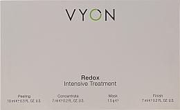 Parfumuri și produse cosmetice Set - Vyon Redox Intensive Tretment (peel/10ml + conc/7ml + mask/1.5g + finish/7ml)