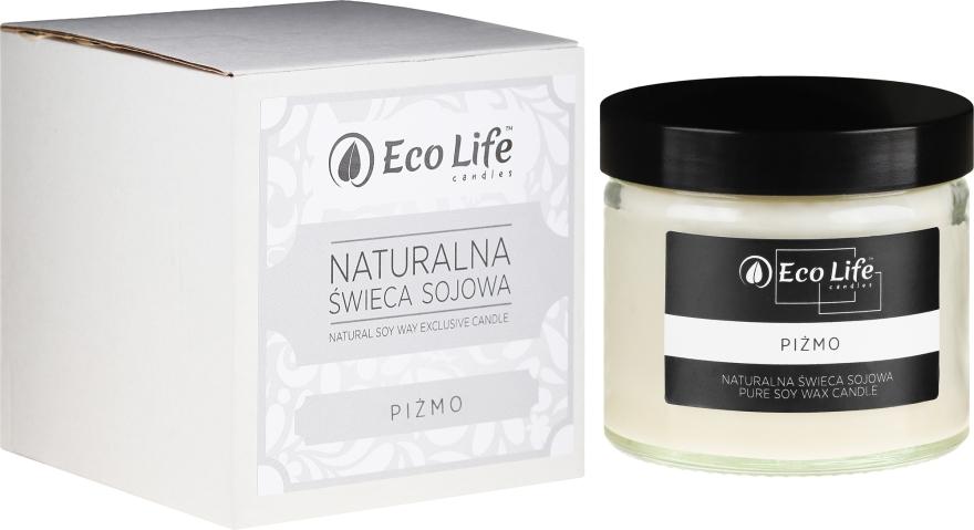 "Lumânare parfumată ""Musk"" - Eco Life Candles — Imagine N1"