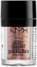 Parfumuri și produse cosmetice Glitter pentru față și corp - NYX Professional Makeup Metallic Glitter