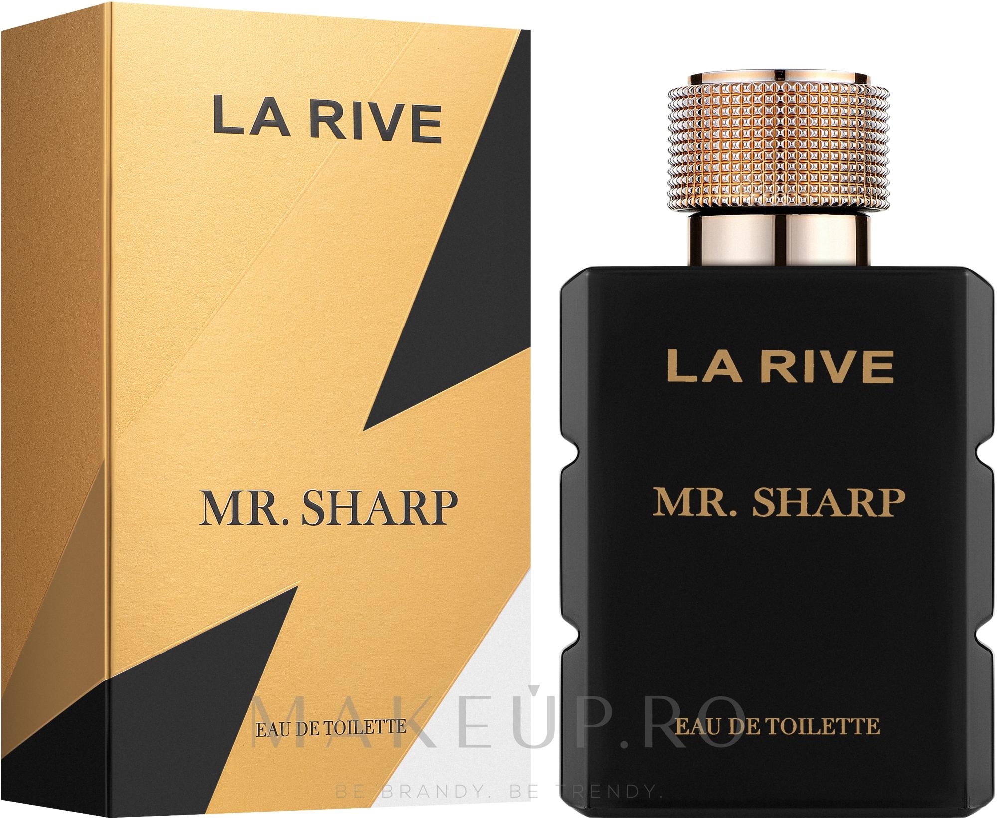 La Rive Mr. Sharp - Apă de toaletă  — Imagine 100 ml