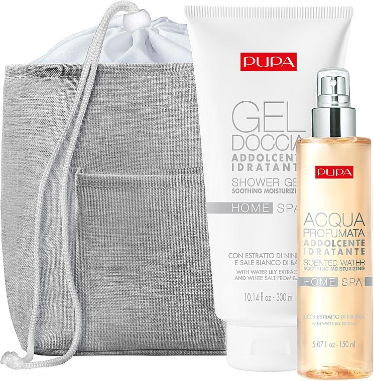Set - Pupa Home Spa (sh/gel/300ml + scented/water/150ml + bag/1pcs) — Imagine N1
