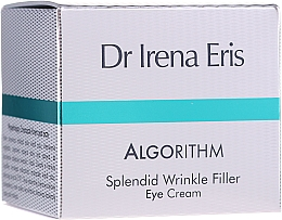 Parfumuri și produse cosmetice Cremă pentru zona ochilor - Dr Irena Eris Algorithm Splendid Wrinkle Filler Eye Cream