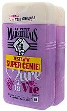 Parfumuri și produse cosmetice Set - Le Petit Marseillais Je Suis La Mure De Ta Vie Shower Gel (sh/gel/2x250ml)