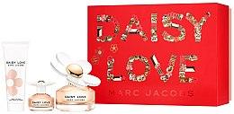 Parfumuri și produse cosmetice Marc Jacobs Daisy Love - Set (edt/100ml + edt/4ml + b/lot/75ml)