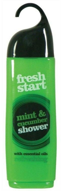 Gel de duș - Xpel Fresh Start Mint & Cucumber Shower Gel