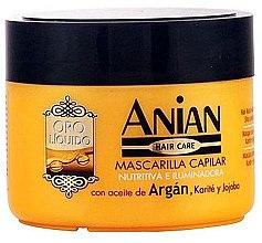 Parfumuri și produse cosmetice Mască de păr - Anian Liquid Gold Hair Argan Mask
