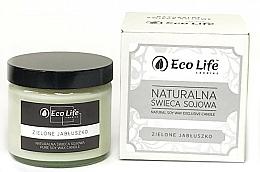 """Parfumuri și produse cosmetice Lumânare parfumată """"Măr verde"""" - Eco Life Candles"""