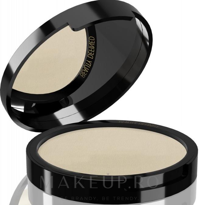 Pudră de față - Delia Stay Matt Skin Defined Pressed Powder — Imagine 202 - Light
