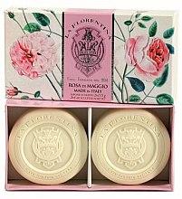 Parfumuri și produse cosmetice Set săpunuri - La Florentina Rose Of May Soap