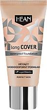 Parfumuri și produse cosmetice Fond de ten impermeabil - Hean Long Cover Waterproof Foundation