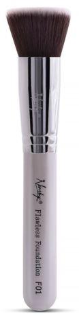 Pensulă machiaj - Nanshy Flawless Foundation F01 P. White