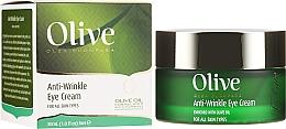 Parfumuri și produse cosmetice Cremă antirid pentru zona ochilor - Frulatte Olive Anti-Wrinkle Eye Cream