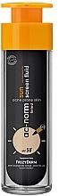 Parfumuri și produse cosmetice Fluid pentru față - Frezyderm Ac-Norm Active Sun Screen Tinted Fluid Spf50+