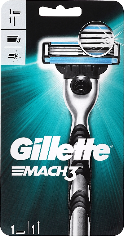 Aparat de ras - Gillette MACH3 — Imagine N1