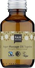Parfumuri și produse cosmetice Ulei pentru masaj - Fair Squared Argan Massage Oil Together