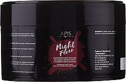 Parfumuri și produse cosmetice Peeling pentru corp și mâini - Apis Professional Night Fever Peelling For Body, Hand And Foot