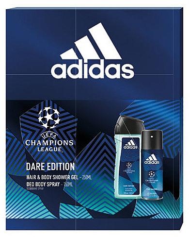 Adidas UEFA Dare Edition - Set (sh/gel/250ml + deo/spray/150ml) — Imagine N1