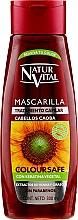 Parfumuri și produse cosmetice Mască pentru menținerea culorii părului vopsit - Natur Vital Coloursafe Henna Hair Mask Mahogony Hair