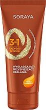 Parfumuri și produse cosmetice Soluție matifiantă cu ulei de cacao - Soraya 3w1 Express Bronze Cacao Tan Activator