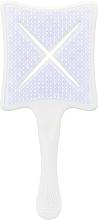 Parfumuri și produse cosmetice Perie de păr - Ikoo Paddle X Classic Platinum White