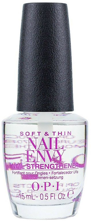 Tratament pentru unghiile subțiri și moi - O.P.I Nail Envy Soft and Thin — Imagine N1