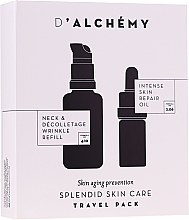 Parfumuri și produse cosmetice Set - D'Alchemy Travel Pack (f/oil/5ml + fluid/20ml)