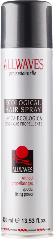 Lac ecologic pentru păr - Allwaves Ecological Hair Spray — Imagine N1