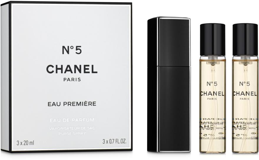 Chanel N5 Eau Premiere - Apă de parfum (rezervă cu husă) — Imagine N1