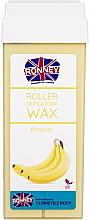 """Parfumuri și produse cosmetice Ceară depilatoare, cartuș """"Banană"""" - Ronney Professional Wax Cartridge Banana"""