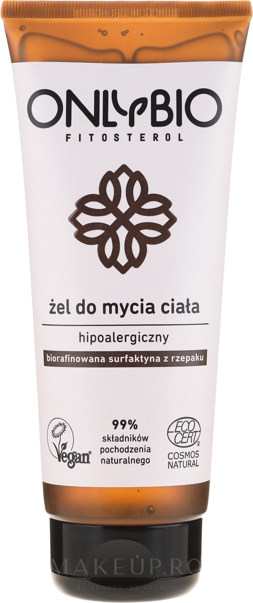 Gel de duș hipoalergenic - Only Bio — Imagine 200 ml
