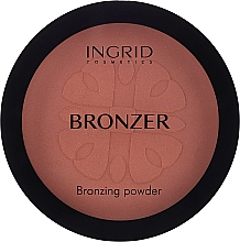 Parfumuri și produse cosmetice Pudră iluminatoare - Ingrid Cosmetics HD Beauty Innovation Bronzing Powder
