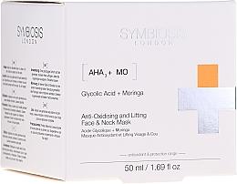 Parfumuri și produse cosmetice Mască antioxidantă pentru față și gât - Symbiosis London Anti-oxidising And Lifting Face & Neck Mask
