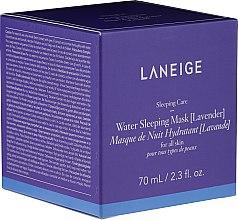 Parfumuri și produse cosmetice Mască hidratantă de noapte cu lavandă - Laneige Water Sleeping Mask Lavender